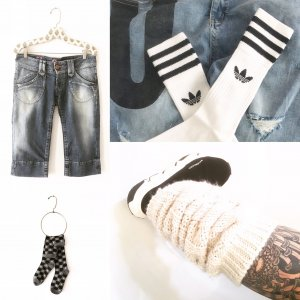 denim • blue jeans • pepe jeans • shorts • boho • hippie