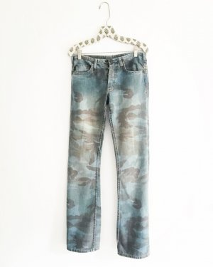 denim / blue jeans / vintage / freeman t. porter / tarnfarben / boho / hippie / festivallook
