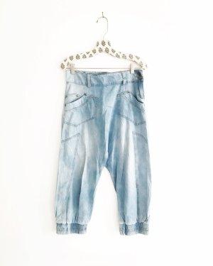 denim / blue jeans / vintage / haremshose / pumphose / oversized / hippie / boho