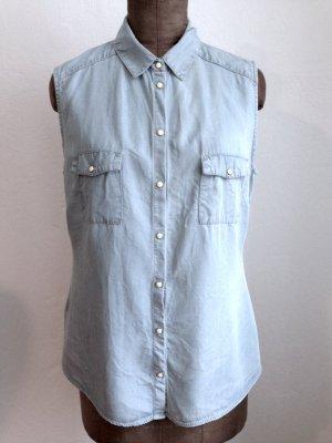Denim Bluse/ Hemd von Promod, Gr. 40