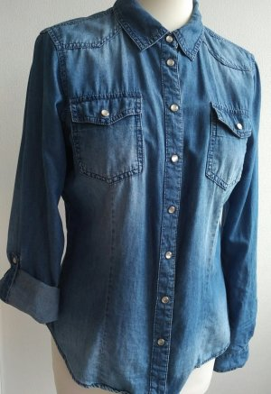 Only Blouse blauw