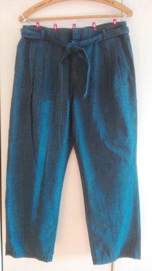 Denim /chinablau Stoffhose, Am 30. April schließe ich meinen Kleiderschrank!!!