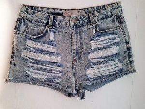 Denim Co. Pantaloncino di jeans blu Cotone