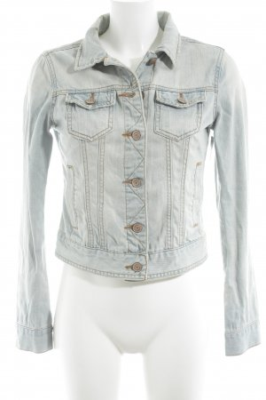 Denim Co. Jeansjacke blassblau Street-Fashion-Look