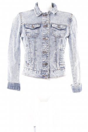 Denim Co. Jeansjacke hellblau Casual-Look