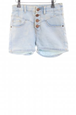Denim Co. Jeansshorts himmelblau Casual-Look