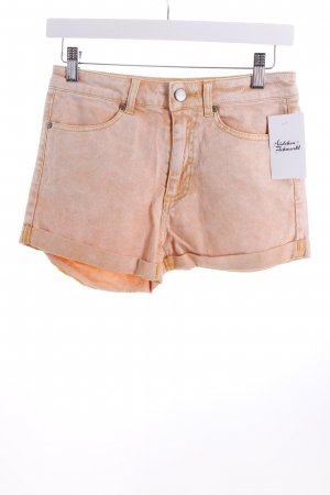 Denim Co. Shorts apricot-weiß Casual-Look