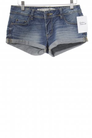 Denim Co. Shorts blau Jeans-Optik