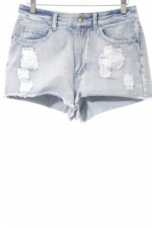 Denim Co. Shorts stahlblau Casual-Look