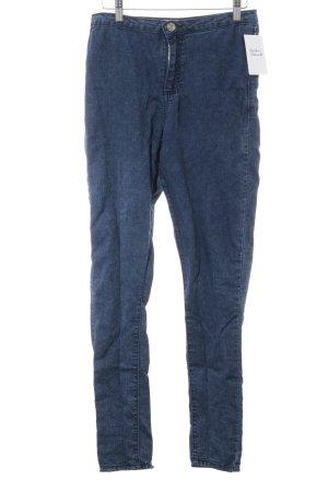 Denim Co. Skinny Jeans blau Casual-Look