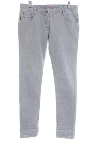 Denim Co. Skinny Jeans grau-hellgrau Casual-Look