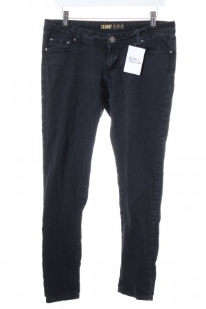 Denim Co. Skinny Jeans schwarz Casual-Look