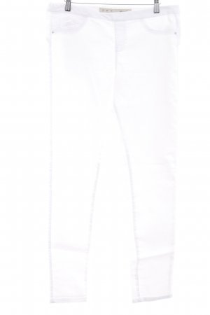 Denim Co. Skinny Jeans wollweiß klassischer Stil