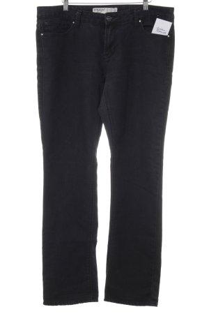 Denim Co. Straight-Leg Jeans schwarz Jeans-Optik