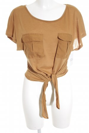Denim Co. T-Shirt camel Street-Fashion-Look