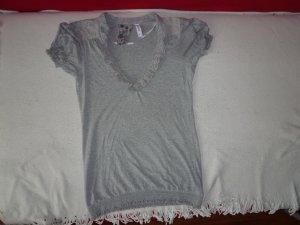 Denim Co T-Shirt Gr. 40 grau