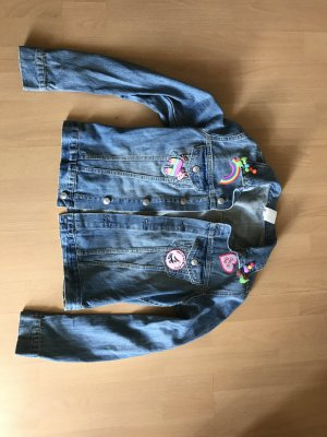&Denim H&M Jeansjacke Customized Personalized Mexiko Patches Tassel