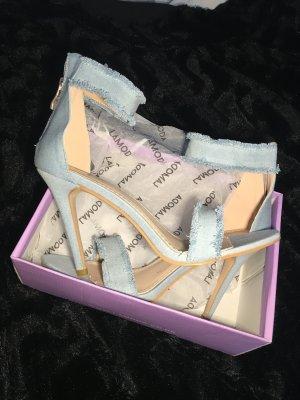High Heel Sandal baby blue-azure