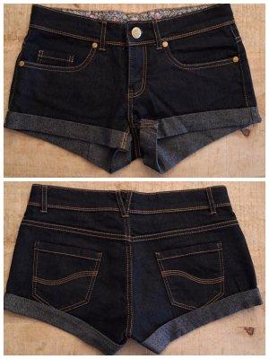 Denim Hotpants / Jeans, Dunkelblau Größe 32