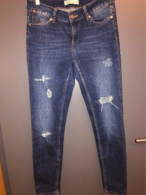 Zara Jeans slim fit blu scuro