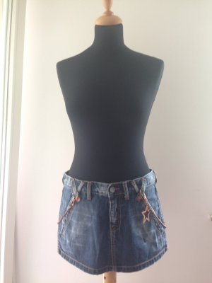Denim Jeans Kette bronze 28 phard Sommer Urlaub Festival Ibiza Ferien LA kim kendall bella