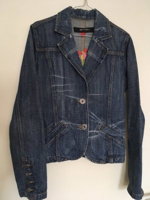 Amisu Denim Blazer blue