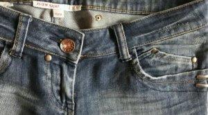Denim Jeans von Tally Weijl Skinny ausgewaschen Karottenhose Röhrenjeans Größe 36