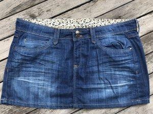 Mango Jeans Spijkerrok veelkleurig