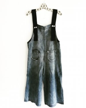 denim jumpsuit / free people / boho / hippie / festivallook / oversized / jeans latzhose / onepiece