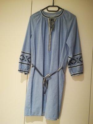 Tom Tailor Denim Robe Hippie bleu azur