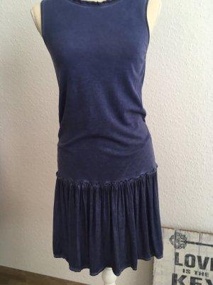 Esprit Denim Dress steel blue-slate-gray
