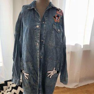 Zara Shirtwaist dress blue-steel blue