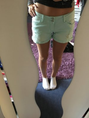 Denim kurze Jeans Hose