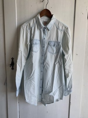 Denim Longbluse washed out
