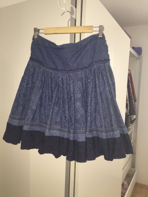 Denim Midi Rock von Mango