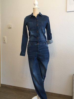 Esmara by Heidi Klum Traje de pantalón azul acero-azul oscuro