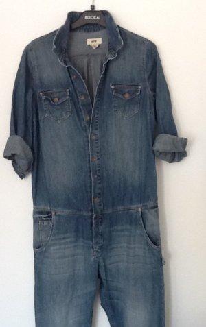 H&M Baggy Jeans blue mixture fibre