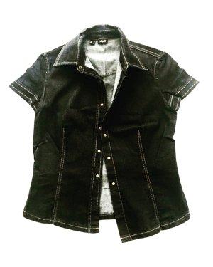 denim set / 90ies / high waist true vintage