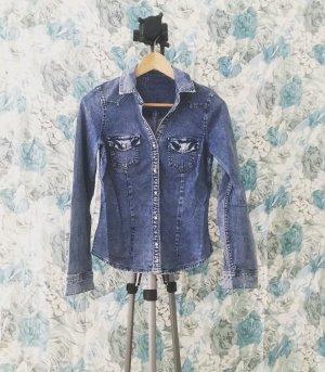 denim shirt / jeans hemd / blue jeans / vintage