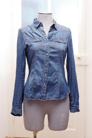 Denim Shirt / Jeanshemd blau