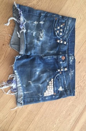 7 For All Mankind Short en jean multicolore