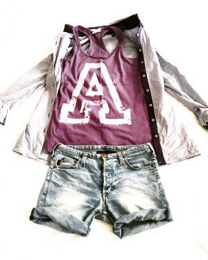 denim shorts true vintage