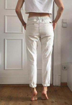 Roxy Jersey Pants natural white cotton