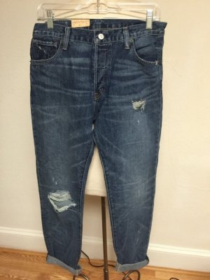 DENIM & SUPPLY by Ralph Lauren boyfriend ripped jeans W26 HIGH WAIST