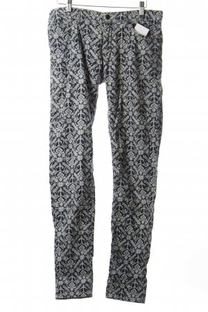 Denim Supply Cordhose wollweiß-dunkelblau Vintage-Look