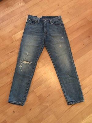 Denim & Supply Ralph Lauren Boyfriend jeans blauw