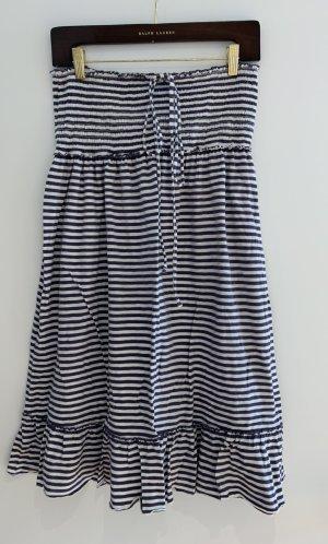Denim & Supply Ralph Lauren Strandkleding donkerblauw-wit Katoen