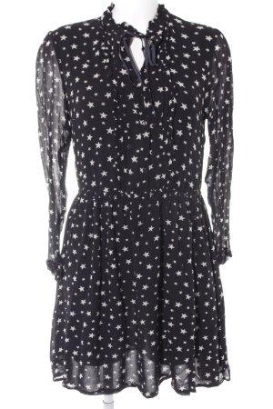 Denim & Supply Ralph Lauren Abito linea A nero-bianco sporco stile casual