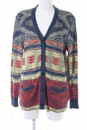 Denim & Supply Ralph Lauren Häkel Cardigan Ethnomuster Ethno-Look