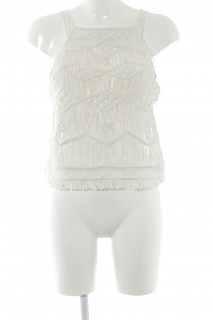 Denim & Supply Ralph Lauren Crochet Top natural white cotton